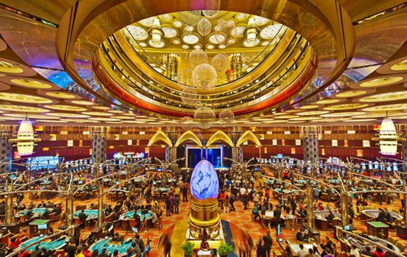 Sòng bạc này thuộc sở hữu của Sociedade de Turismo e Diversoes de Macau